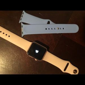 Accessories - Apple Watch rose gold series 1 size 38 mm